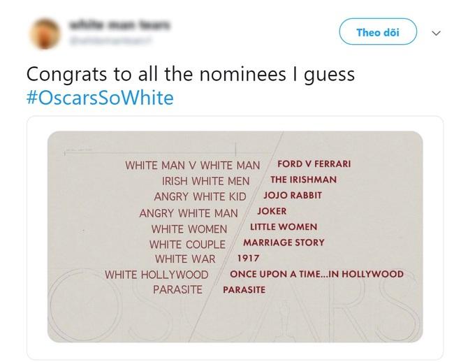 """Khán giả lại ồ ạt lên tiếng vì đề cử Oscar 2020 quá """"trắng""""? - ảnh 6"""