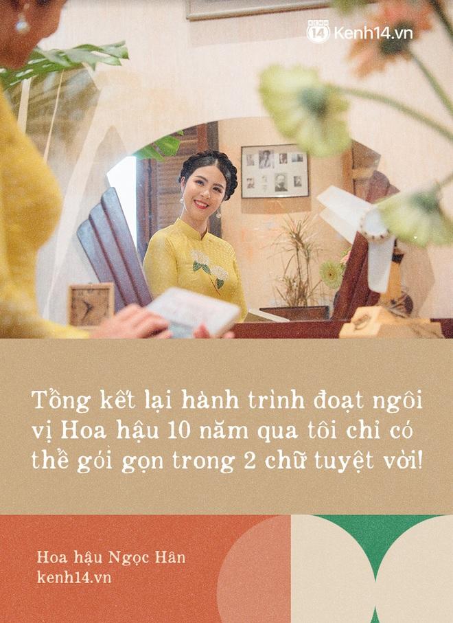 Hoa hậu Ngọc Hân nhìn lại một thập kỷ đăng quang, lần đầu lên tiếng xác nhận về danh tính bạn trai và chuyện đám cưới - ảnh 2