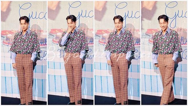 Góc tức dùm: Kai đẹp trai thế này nhưng sự chú ý của fan lại chỉ dành cho tấm backdrop viết ẩu của Gucci mà thôi! - ảnh 6
