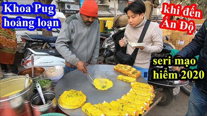 Khoa Pug bất ngờ trở lại sau tuyên bố nghỉ Tết: chất lượng clip tốt hơn hẳn, gây chú ý nhất là hành động mang đồ ăn cho người vô gia cư ở Ấn Độ - Ảnh 1.