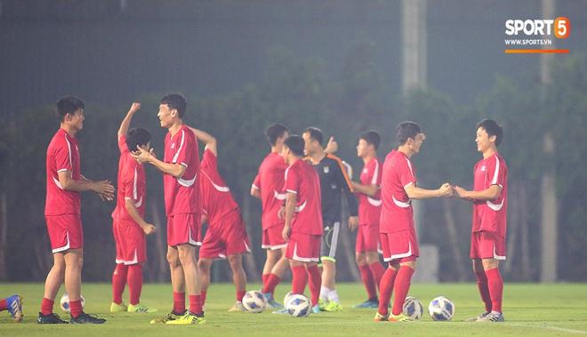 U23 CHDCND Triều Tiên tập sân huyền bí trước trận đấu cuối cùng gặp U23 Việt Nam - ảnh 15