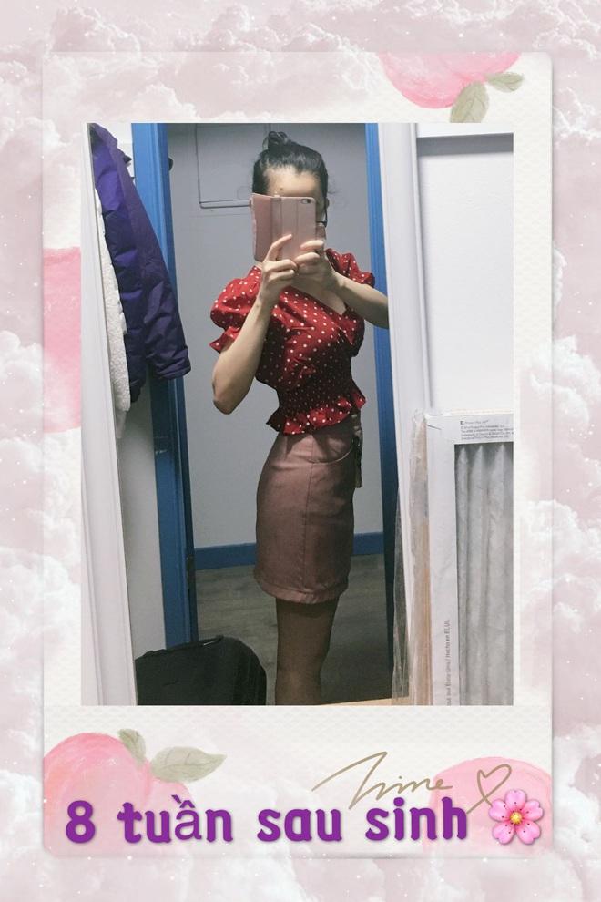 Mẹ bầu Sài Thành chia sẻ bí quyết lấy lại vòng eo 66 và cân nặng 50kg chỉ sau 8 tuần sau sinh - ảnh 12