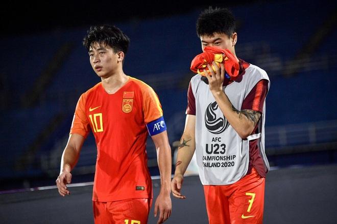 Cầu thủ Trung Quốc suy sụp, bật khóc nức nở sau VCK U23 châu A tệ chưa từng có trong lịch sử - ảnh 5