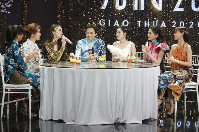 Trấn Thành hội ngộ Lan Ngọc, Hương Giang, Chi Pu... trong chương trình đêm Giao thừa - ảnh 6