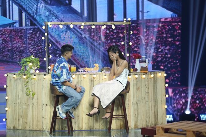Choáng: Trọng Hiếu quyết định nắm tay Hoa hậu chuyển giới Hoài Sa ra về trên show hẹn hò - ảnh 5
