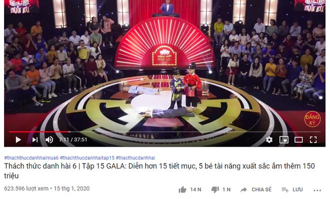 Chỉ mới 12 tiếng, các clip dự thi Thách thức danh hài của 5 chú tiểu đã đạt được gần 4 triệu view - ảnh 5