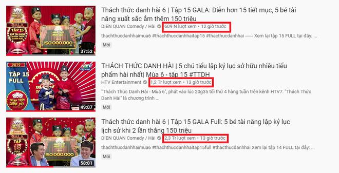 Chỉ mới 12 tiếng, các clip dự thi Thách thức danh hài của 5 chú tiểu đã đạt được gần 4 triệu view - ảnh 3