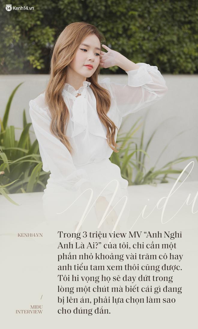 """Midu: """"Tôi chưa sẵn sàng làm ca sĩ, muốn ra MV để cảnh tỉnh người thứ ba"""" - ảnh 8"""