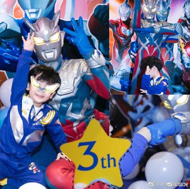 Mừng sinh nhật quý tử 3 tuổi, Angela Baby - Huỳnh Hiểu Minh không đả động đến nhau, thân ai người nấy chúc mừng - ảnh 1