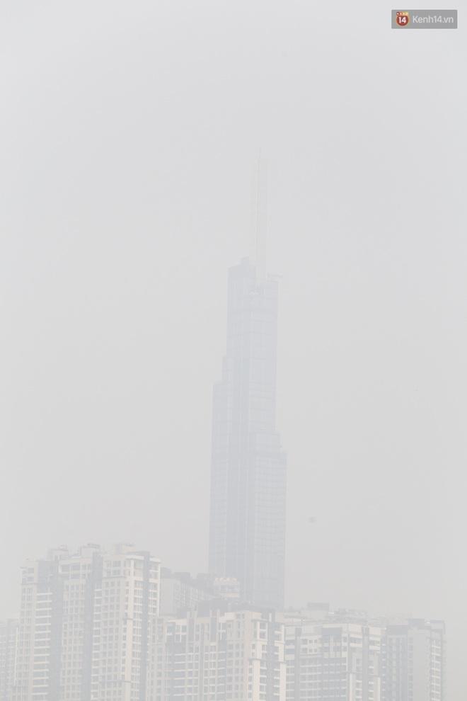 Toà nhà cao nhất Việt Nam mờ ảo trong bụi mù, Sài Gòn tiếp tục bị ô nhiễm nặng những ngày giáp Tết - ảnh 5
