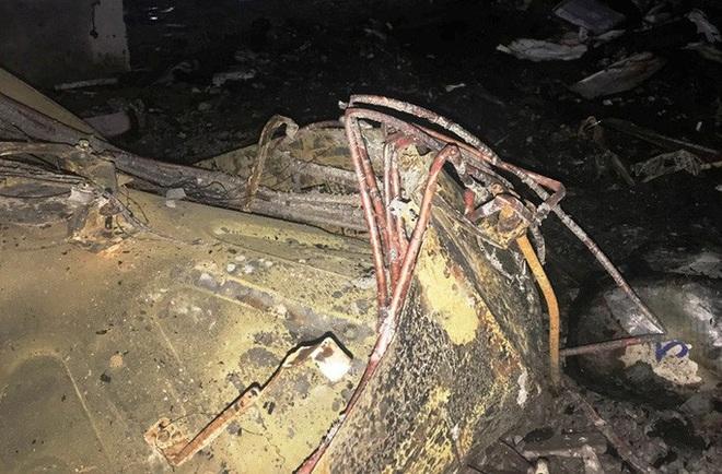Hiện trường vụ cháy tòa nhà dầu khí Thanh Hóa khiến 2 người chết, 13 người bị thương - ảnh 14