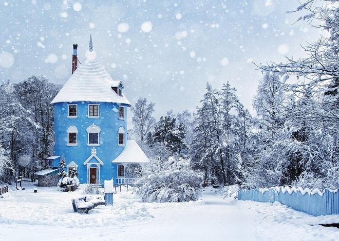 Chùm ảnh mùa đông băng tuyết trắng xóa phủ khắp vạn vật đẹp đến mê hồn, trông như khung cảnh trong truyện cổ tích - ảnh 8