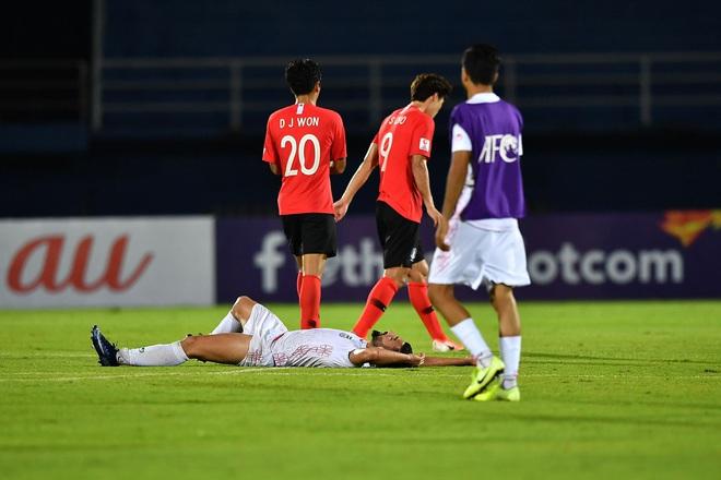 Cầu thủ Jordan òa khóc như trẻ con sau khi bị dàn trai đẹp Hàn Quốc đánh bại - ảnh 4
