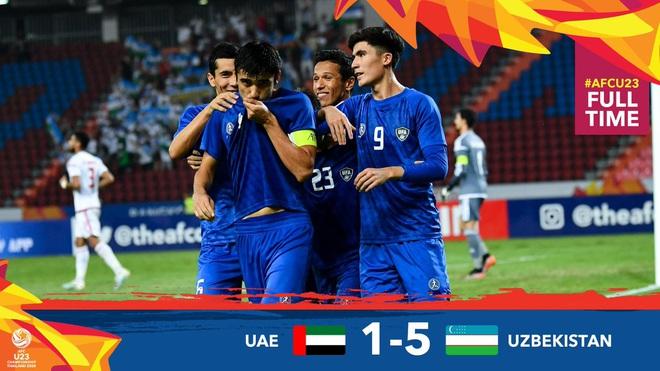 Rắp tâm chơi nhây, đá xấu khiến U23 Việt Nam bị loại, tuyển UAE dính ngay quả báo, thua đậm không thể tin nổi tại tứ kết giải U23 châu Á - ảnh 4