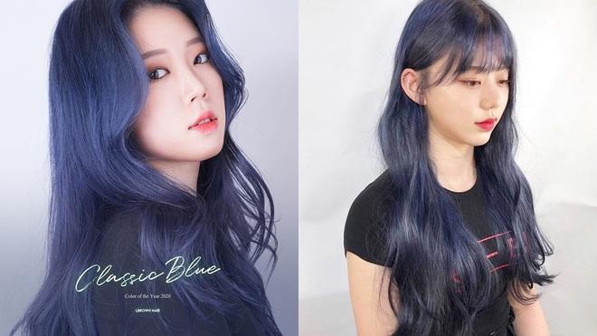 Có ít nhất 4 tông xanh khác nhau cho bạn chọn nếu muốn đu trend tóc xanh như idol Hàn Quốc - ảnh 1