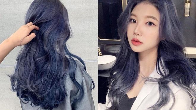 Có ít nhất 4 tông xanh khác nhau cho bạn chọn nếu muốn đu trend tóc xanh như idol Hàn Quốc - ảnh 4