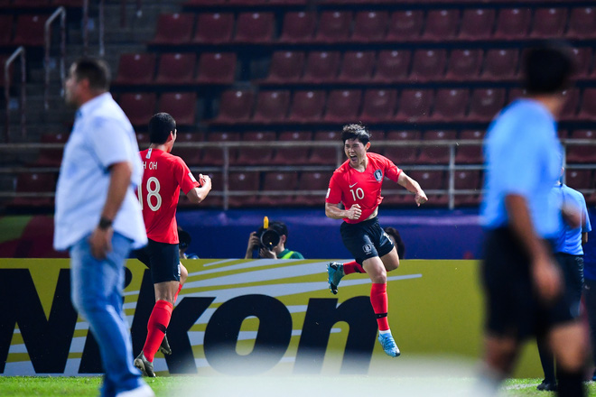 U23 Hàn Quốc vào bán kết U23 châu Á 2020 đầy kịch tính bằng siêu phẩm ở phút cuối cùng - ảnh 3