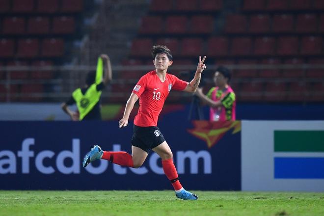 U23 Hàn Quốc vào bán kết U23 châu Á 2020 đầy kịch tính bằng siêu phẩm ở phút cuối cùng - ảnh 2
