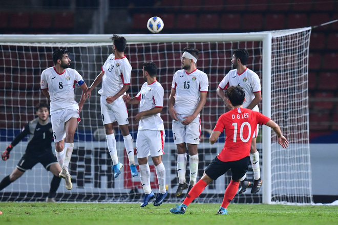U23 Hàn Quốc vào bán kết U23 châu Á 2020 đầy kịch tính bằng siêu phẩm ở phút cuối cùng - ảnh 1