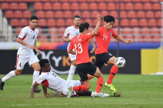U23 Hàn Quốc vào bán kết U23 châu Á 2020 đầy kịch tính bằng siêu phẩm ở phút cuối cùng - ảnh 5