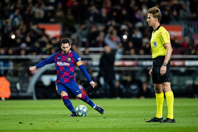Mừng thầy mới ra mắt, Messi tặng ngay bàn thắng bằng vàng giúp Barcelona đòi lại ngôi đầu từ tay đại kình địch - ảnh 3