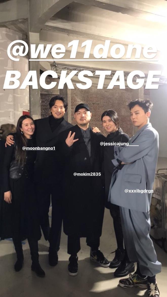G-Dragon (BIGBANG) gây náo loạn ở Paris, lần đầu dự sự kiện quốc tế bên anh rể tài tử để ủng hộ chị gái - ảnh 9