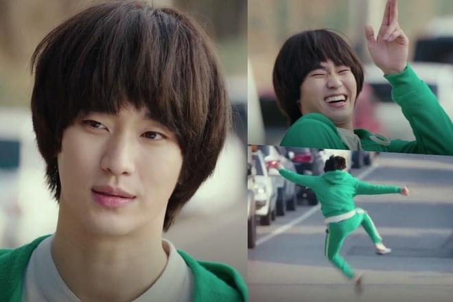 Knet cười sảng với vai cameo của Kim Soo Hyun ở Crash Landing on You: 7 năm rồi mà Dong Gu ngốc vẫn đi ship đồ ăn - ảnh 2