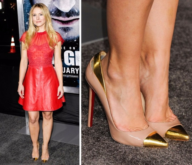 Các mỹ nhân trời Tây và lỗi diện giày cao gót rộng ngoác: Không phải lớ ngớ vớ nhầm size mà là một chiêu bài tuyệt hay - ảnh 4