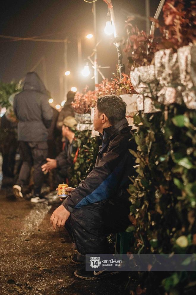 Những người nông dân chong lều canh đào, quất giữa cái lạnh 14 độ C của Hà Nội: Như đánh một canh bạc, bại nhiều hơn thắng - ảnh 5
