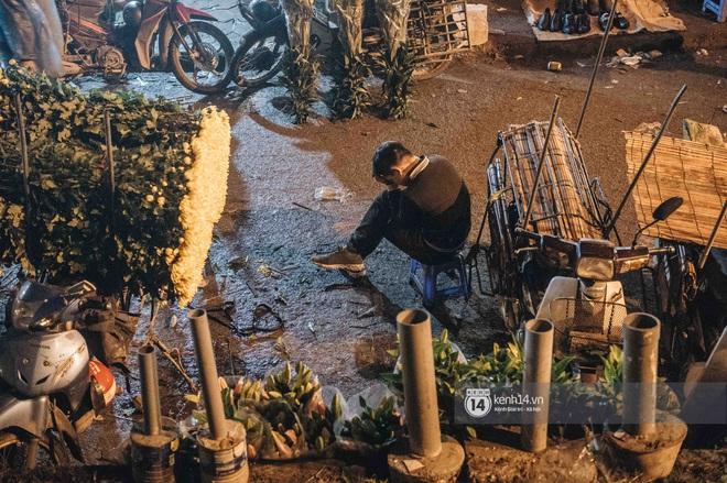 Những người nông dân chong lều canh đào, quất giữa cái lạnh 14 độ C của Hà Nội: Như đánh một canh bạc, bại nhiều hơn thắng - ảnh 1