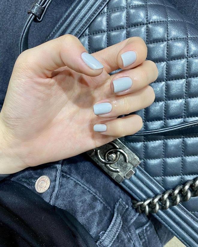 Để Tết này thêm chanh sả, bạn hãy bắt chước ngay những mẫu nail sang xịn từ loạt sao châu Á sành điệu - ảnh 6
