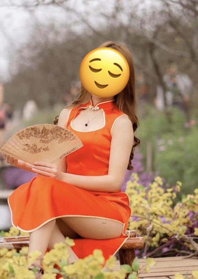 Phó nháy nhận rổ gạch đá vì chụp mẫu mặc sườn xám ngồi hớ hênh ở vườn hoa Tết, lên tiếng: Đã xin mẫu vén cao váy và cô đồng ý - ảnh 1