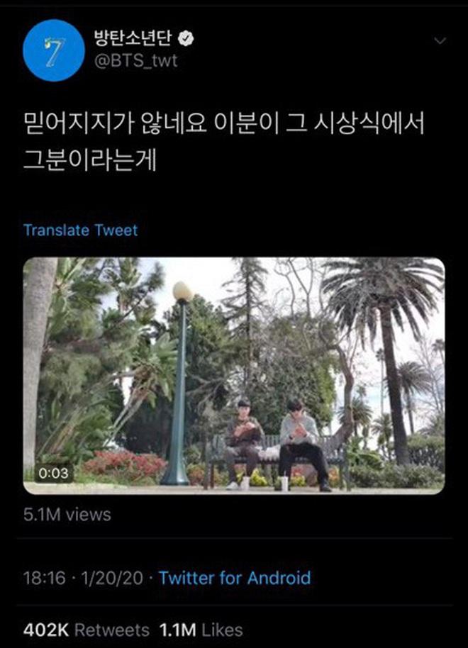 Đẳng cấp bạn thân hậu sao Kí Sinh Trùng thắng giải lớn: Park Seo Joon và V (BTS) thi nhau dìm hàng chúc mừng Choi Woo Sik - ảnh 9