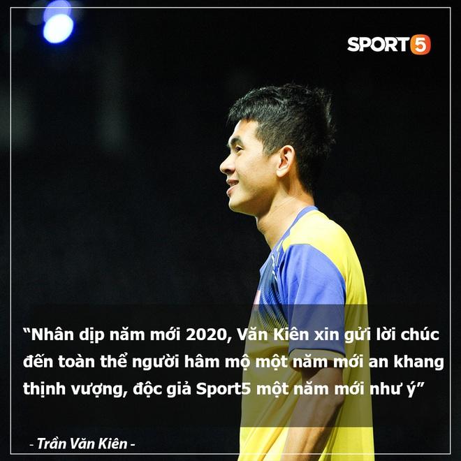 Tuyển thủ bóng đá Việt Nam gửi lời chúc Tết siêu có tâm đến người hâm mộ trước thềm năm mới Canh Tý 2020 - ảnh 2