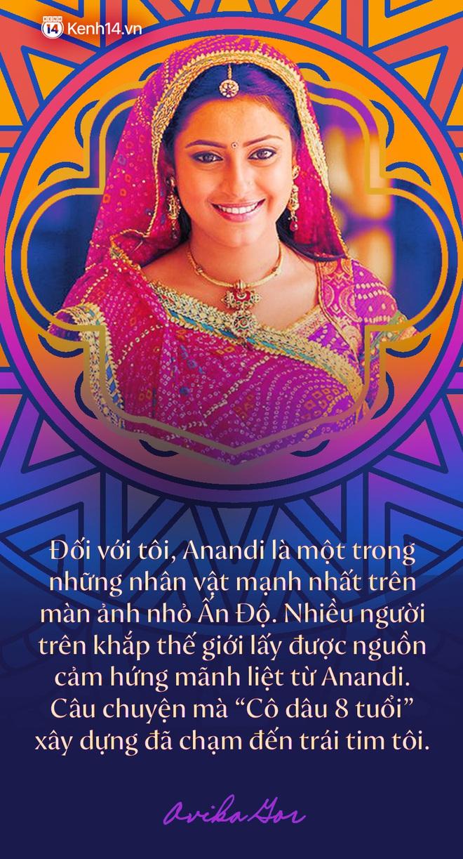 """Phỏng vấn độc quyền """"Cô dâu 8 tuổi Avika Gor sau 1 thập kỷ: Lần đầu kể về cái duyên hiếm có với Anandi, thay đổi cả nền điện ảnh Ấn Độ và chuyện tình cảm với anh bạn thân tài tử - ảnh 3"""