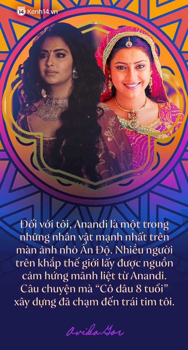 """Phỏng vấn độc quyền """"Cô dâu 8 tuổi Avika Gor sau 1 thập kỷ: Lần đầu kể về cái duyên hiếm có với Anandi, thay đổi cả nền điện ảnh Ấn Độ và chuyện tình cảm với anh bạn thân tài tử - ảnh 2"""