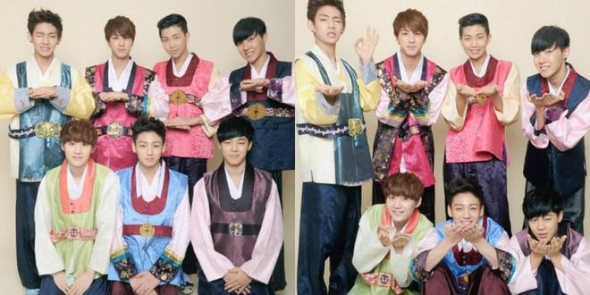 BTS lột xác khi diện hanbok trên show thực tế nhân dịp đầu năm mới - ảnh 1