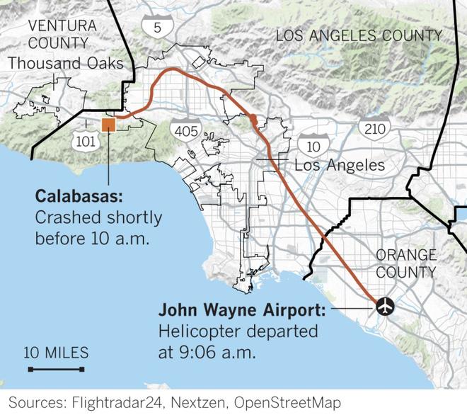 Tiết lộ từ cựu phi công lái máy bay cho Kobe Bryant: Chiếc trực thăng giống như một chiếc limousine và an toàn tuyệt đối. - ảnh 3