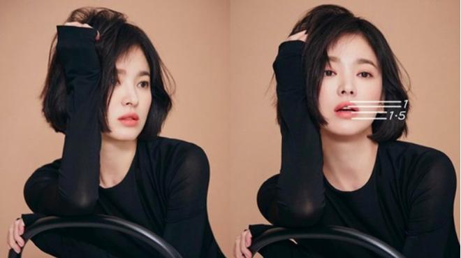Tuyệt chiêu tô son để có được bờ môi gợi cảm mời gọi như Song Hye Kyo - ảnh 2