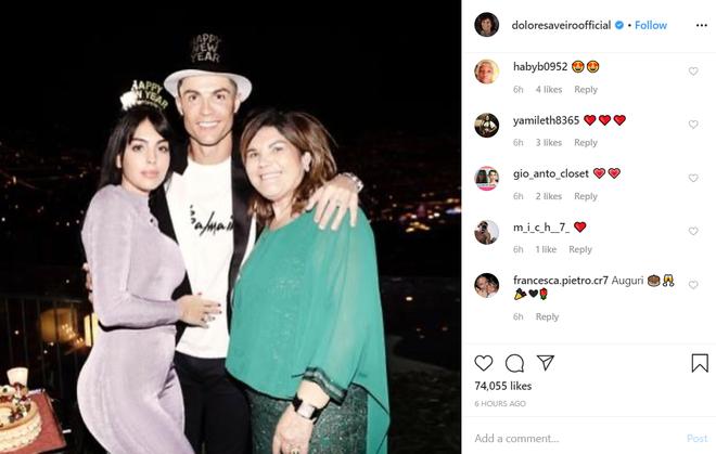 Georgina nhận một núi hoa từ Ronaldo trong ngày sinh nhật, lại còn được mẹ của CR7 có hành động ưu ái hơn hẳn cô người cũ Irina Shayk - ảnh 6