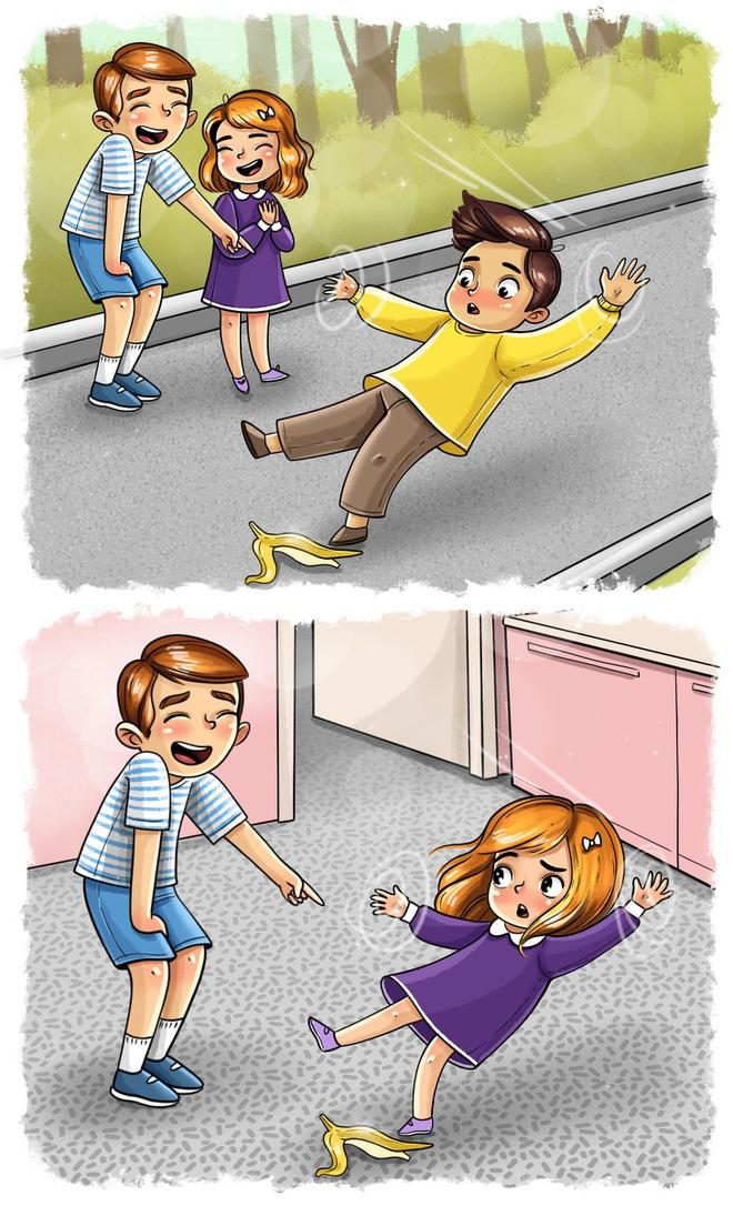Bộ tranh: Dù có lúc đáng ghét đến mức chỉ muốn sút ra khỏi nhà nhưng có anh chị em thực sự là hạnh phúc to đùng đấy! - Ảnh 5.