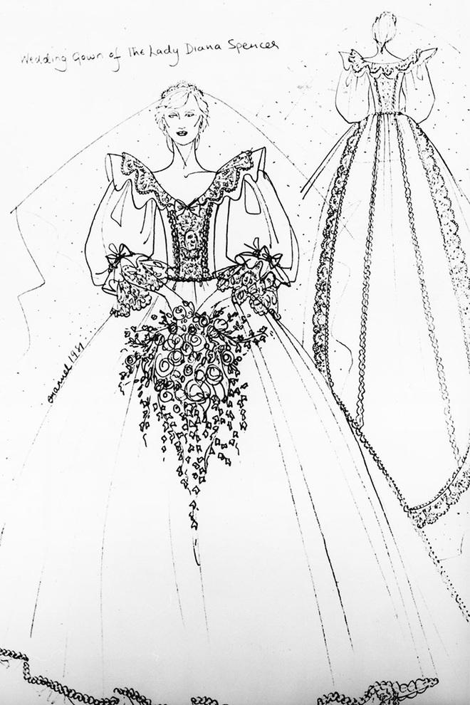 Váy cưới Công nương Diana bất ngờ gây sốt trở lại: 3,5 tỷ VNĐ, tốn vải nhất lịch sử Hoàng gia và nhiều bật mí bất ngờ - Ảnh 7.