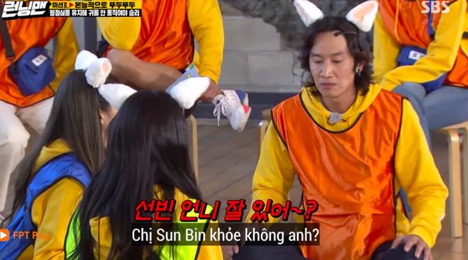 Phản ứng giận dỗi của Jennie (BLACKPINK) khi Lee Kwang Soo chọn người xinh nhất BLACKPINK khiến fan thích thú - Ảnh 1.