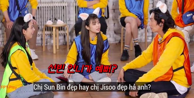Phản ứng giận dỗi của Jennie (BLACKPINK) khi Lee Kwang Soo chọn người xinh nhất BLACKPINK khiến fan thích thú - Ảnh 2.