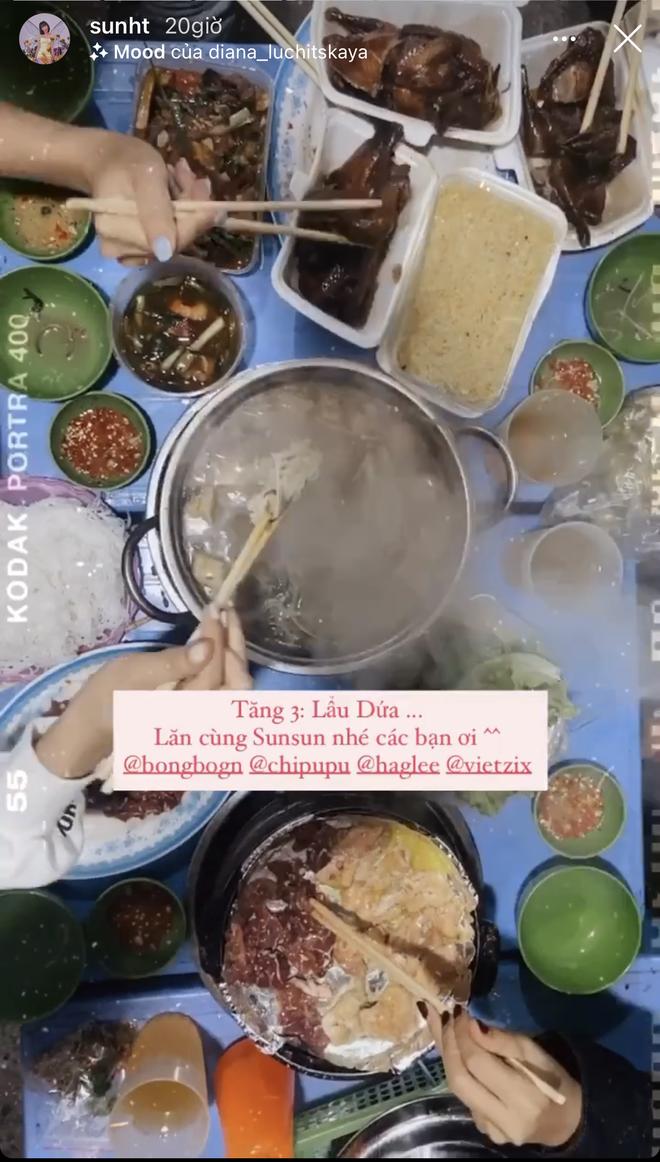 Xem hội chị em Chi Pu oanh tạc Hà Nội mà thèm: một tối ăn tận 4 cữ, hết nướng lại đến lẩu - Ảnh 6.