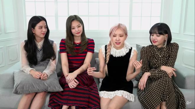 BLACKPINK giao lưu trên talkshow Mỹ: Jisoo tự tin hơn dù chỉ được hỏi đúng 1 câu tiếng Anh - Ảnh 2.