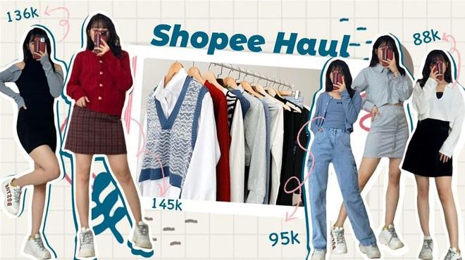 Shopping đồ thu đông chỉ từ 88k nhưng cô bạn gom về toàn món xinh, hàng giống như hình siêu chân thực - Ảnh 1.