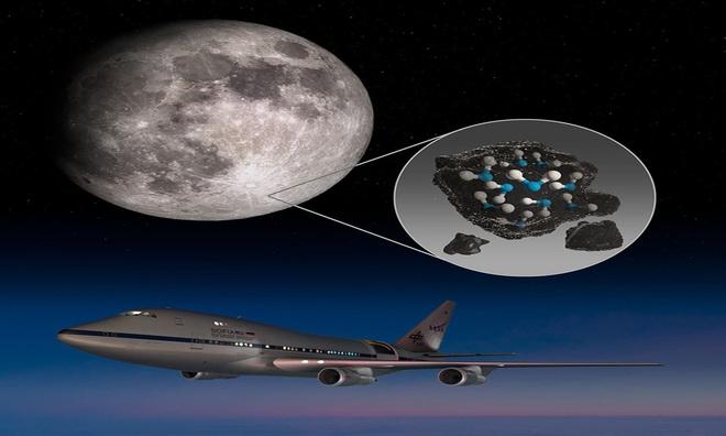 NASA công bố phát hiện chấn động: Trên Mặt trăng có NƯỚC - Ảnh 2.