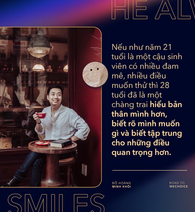 """Đỗ Hoàng Minh Khôi: """"Những người càng gặp nhiều thử thách càng có nhiều bản lĩnh, và cơ hội thành công cũng lớn hơn"""" - Ảnh 4."""