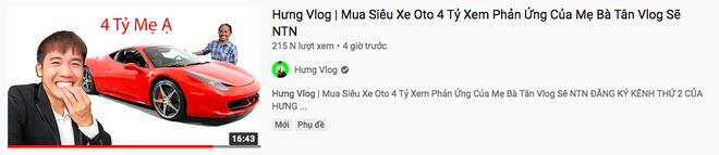 """Sau loạt lùm xùm phải nộp phạt, Hưng Vlog khoe mua xe 4 tỷ, tuyên bố với bà Tân: """"Con đầy tiền""""? - Ảnh 1."""